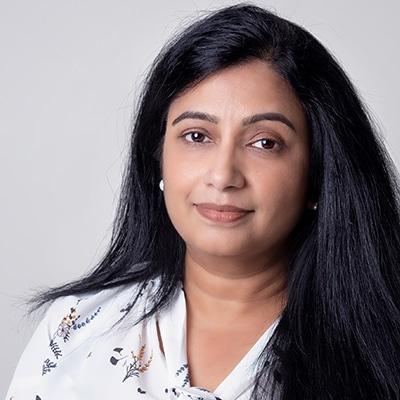 Practice Manager Sheela Cheyyur